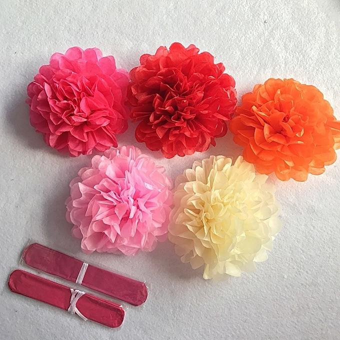 Buy generic amno222 christmas 6 10diy tissue paper pom poms flower amno222 christmas 6 10diy tissue paper pom poms flower ball for party wedding mightylinksfo