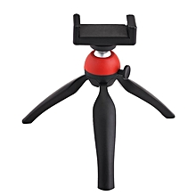 360 Rotatable Stand Adjustable Selfie Tripod Mount For 5.5\ Phone/Camera -Black""