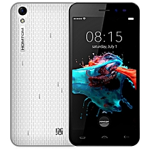 HT16 Android 6.0 5.0 inch 3G Smartphone MTK6580 Quad Core 1.3GHz 1GB RAM 8GB ROM - WHITE