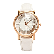 White Ladies  PU Leather Strap   Watch.