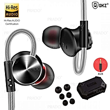 DM10 In-Ear Earbuds HIFI Sport Gaming Hi-Res Stereo Bass Sound Earphones 3.5MM xYx-S