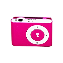 MP3 Player with Matching Earphones - Pink