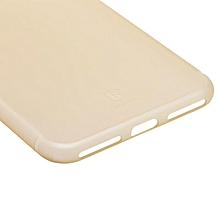 Baseus Ultra Slim Frosted Case Cover for Apple Iphone 7 Plus Super Thin Matte Protective Shell Back Phone Cases Funda (Gold) MQSHOP