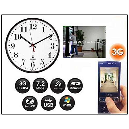 Buy Quartz Wall Clock Spy Camera @ Best Price Online - Jumia Kenya