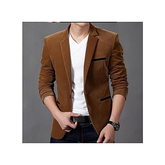 c23b322120879 ... Khaki New Arrival Slim Fit Men Suit Costume Homme Vest Formal Business Mens  Blazer Suit Mens