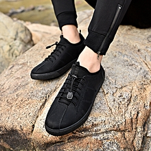 Elegant Men's casual shoes fashion trend youth student shoes