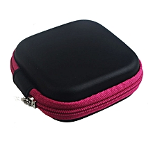 Hiamok_Zipper Storage Bag Carrying Case for Hard Keep Earphones SD Card Area Hot