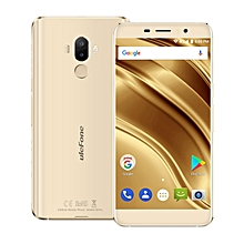 S8 Pro 5.3-inch HD (2GB, 16GB ROM) Android 7.0 Nougat, 13MP & 5MP + 5MP, 3000mAh, Dual Sim 4G LTE Smartphone - Gold