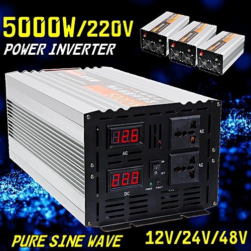 Pure Sine Wave Power Inverter 2500W(PEAK5000W) DC 12V/24V/48V to AC220V