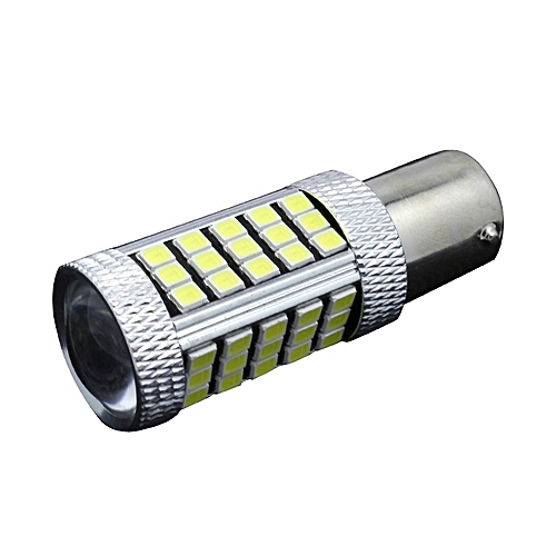 White Power 63smd Bulbs 12 Super Led Ba15s 2pcs 2835 Headlight Lamp 24v 1156 High iuZOPkX