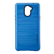 Techno L9 PLUS Back Cover- Armor case Blue