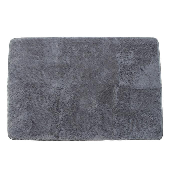 ... Shaggy Anti-skid Carpets Rugs Floor Mat/Cover 80x120cm (Grey) ...