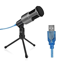 Microphone USB Microphone Micro Studio Audio Podcast Microphone Support Portable