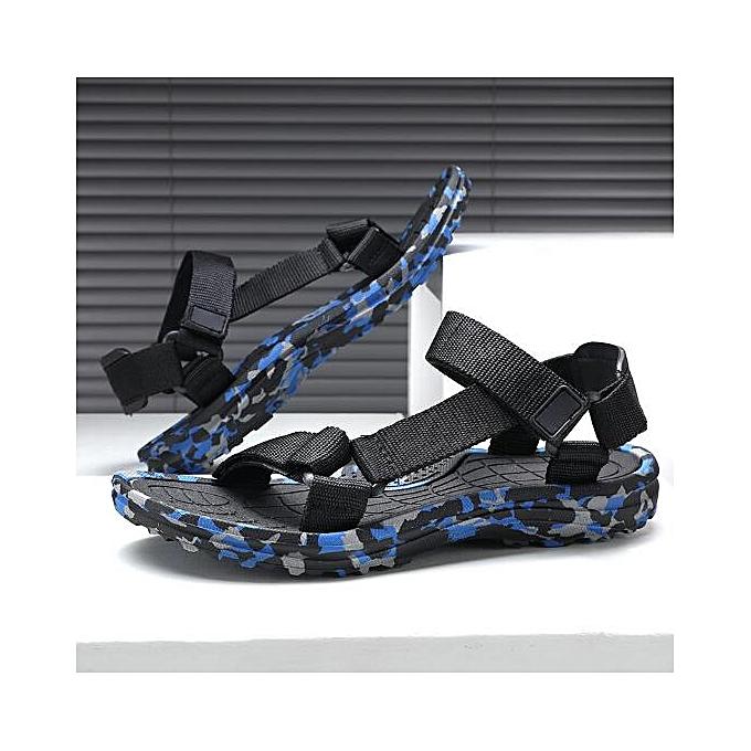 08a02e0fe2b Men Casual Camo Sandals Outdoor Fisherman Shoes Hiking Beach Walk Soft  Slippers