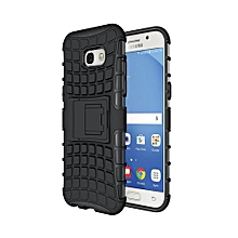 Rugged Armor Case Heavy Duty Hybrid Shockproof Kickstand Cover For Samsung A5 2017 Balck