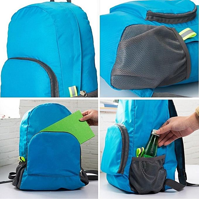 670f8e78d767 ... Hiking Bag Rucksack Lightweight Foldable Waterproof Nylon Backpack  Travel