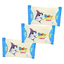 Newborns Wet Wipes Infants Wet Wipes Useful 3 Pcs/Set Hand Travel Baby Wet Wipes Care Wipe Mouth