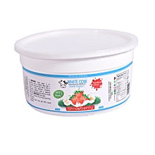 1 kg strawberry flavoured Greek yogurt (natural strawberry flavour and natural sweetener added,no preservative)