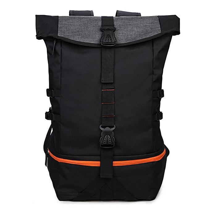 Mountaineering Bag Football Basketball Black Nylon