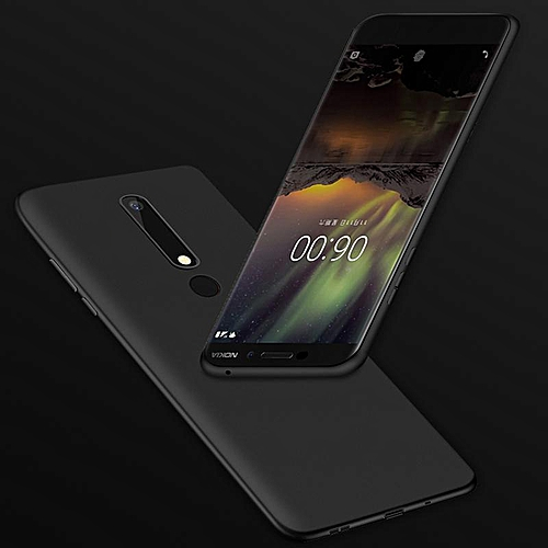 new products 9a50c 700fc Soft Case For Nokia 6 2018 Ultra Thin Smooth Back Cover Casing For Nokia6  Cases Housing Shell