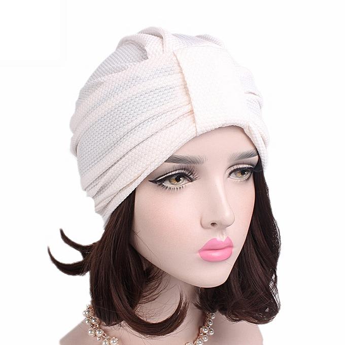 9c84b619de7d9 Generic Women Cancer Chemo Hat Beanie Scarf Turban Head Wrap Cap WH ...