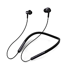 Xiaomi LYXQEJ01JY Bluetooth Earphones Necklace Sports Earbuds - BLACK