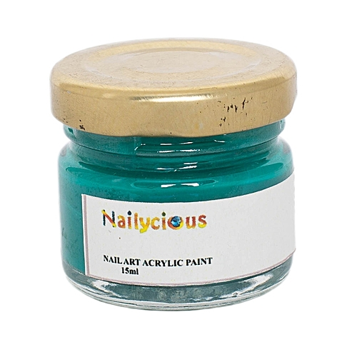 Buy Nailycious Acrylic Paint For Nail Art Poison Green Best