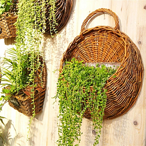 Buy Generic Natural Wall Mounted Planter Pot Hanging Garden Flower