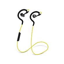 Wireless Stereo EarphonesD700 Bluetooth 4.0 Sport - Yellow.
