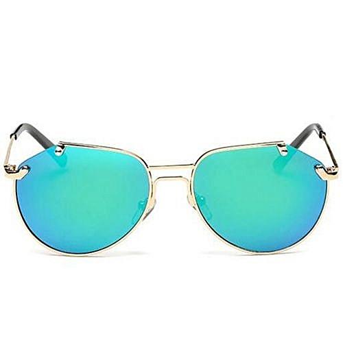 29a86352690 Fashion Mercury Coating Kids Sunglasses Dual Beam Children Baby Boys Girls  UV400 Protection Sun Glasses Personas Goggle Sunglasses(Blue)