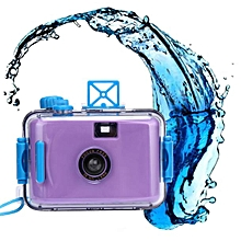 Underwater Waterproof Mini 35mm Film Camera  -Purple