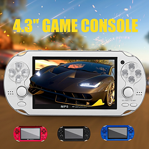 16GB Portable 4 3'' Handheld Video Game Console Music Player Built in 300  Games