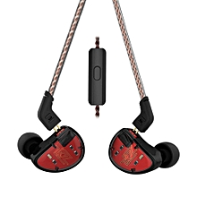 KZ AS10 In Ear Headphone Moving Iron 5BA 5 Balanced Headset w/2Pin Cable   XXZ-Z