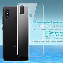 Imak 2pcs Hydrogel Film for Xiaomi Mi 8 Full Cover Back Screen Protector