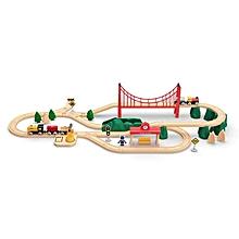 Xiaomi Blocks Toys Mitu Wooden Track Model Building Developmental Toy Puzzle-