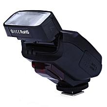 JY - 610C TTL LCD Flash Speedlite Light for  750D / 760D / 5DR / 5DRS / 60D 70D / 700D / 5D3 DSLR Camera-BLACK
