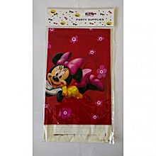 Minnie mouse table cover-1 pack-Multicolored