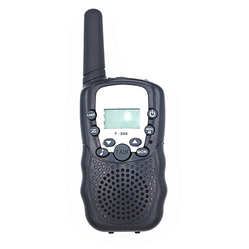 dff419ec634 Allwin T388 UHF Two Way Radio Children s Walkie Talkie Mini Toy Gifts for  Kids black US Version   Best Price
