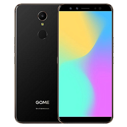 U7 Mini 5.47-inch (4GB, 64GB ROM) Android 7.1 Nougat, 13MP + 16MP, Dual Sim 4G LTE Smartphone - Black
