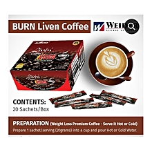 LIVEN BURN COFFEE(best coffee on your weight loss journey)