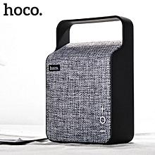 HOCO BS6 Bluetooth Portable Stereo Speaker Grey WWD