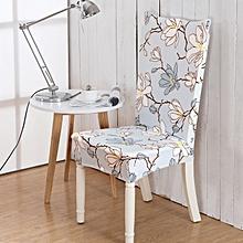 Honana WX-918 ElegantFlower Elastic Stretch Chair Seat Cover Computer Dining Room Home Wedding Decor