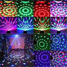 DJ Lighting LED Crystal Magic Ball Projector Stage Show Light Club Disco KTV