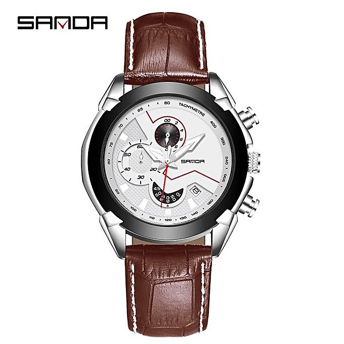 f249961dc SANDA Mens Watches Top Brand Luxury Waterproof Chronograph Quartz Watch Men  Fashion Outdoor Sport Watch Relogio