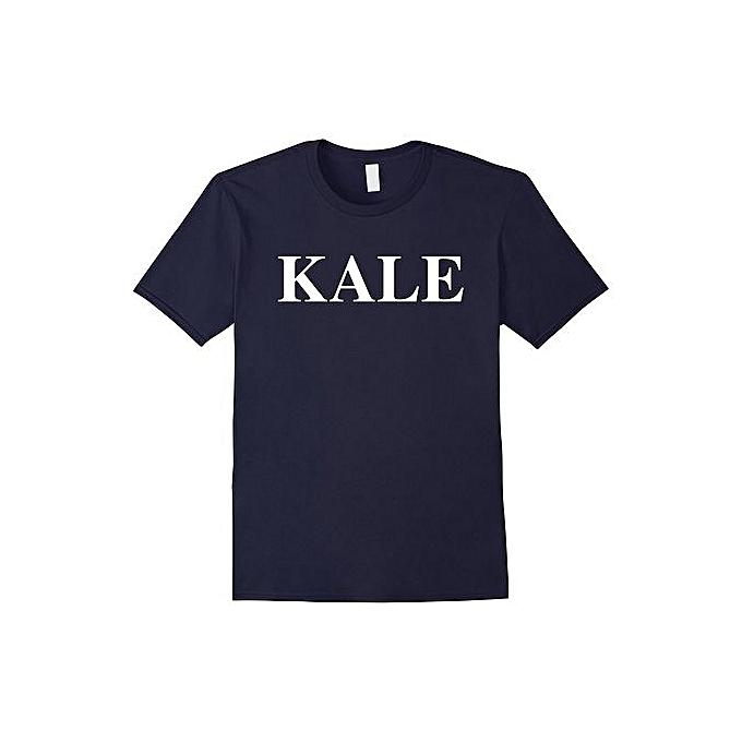 814a1831f0 Men's Summer Cotton Casual Kale T Shirt Funny Vegan & Vegetarian Shirt