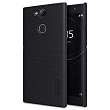 NILLKIN Frosted Concave-convex Texture PC Case for Sony Xperia XA2 (Black)
