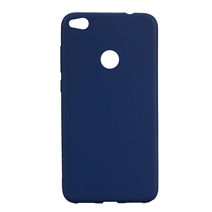 best sneakers cc4ca ace8f Huawei Honor 8 Lite Back Cover - Silicone Rubber Finish Blue