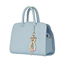 Sky Blue Bowtie Tote Bag