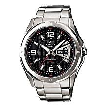 Black Quartz Stainless Strap Mens' Wrist Watch