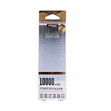 10,000mAh White Proda Power Bank